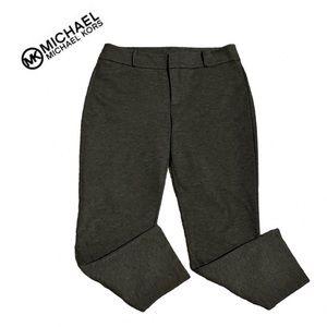 Michael Kors Charcoal Gray Ponte Knit Pants Sz 14